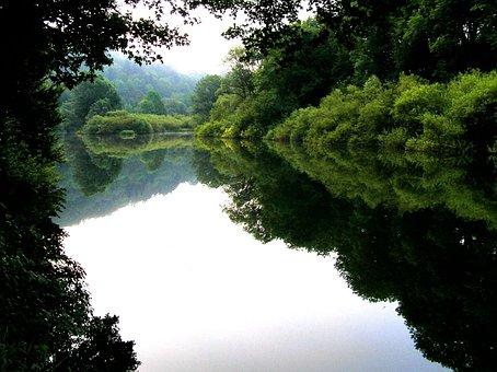 River, France, Doubs, Jura