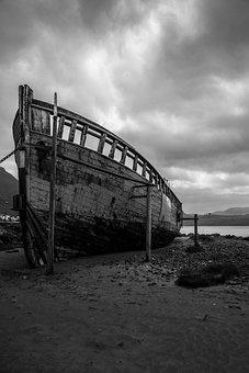 Boat, Demise, Faroe Islands, Sea, Ship, Water, Holiday