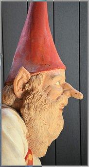 Art, Wood Art, Fairy Tales, Jiminy Cricket, Leprechaun