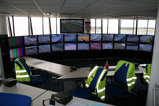 Control Room, Belgium, Le Mans