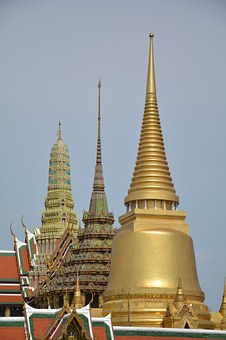 Palace, Temple Of The Emerald Buddha, Thailand, Measure