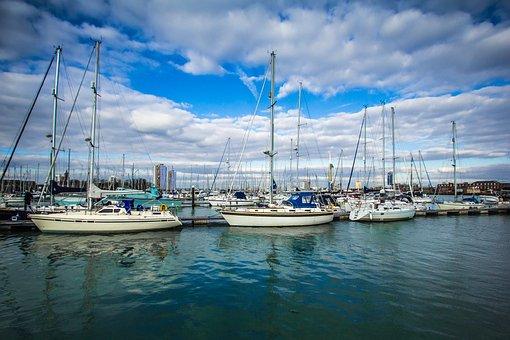 Port, Ships, Gosport, Yacht