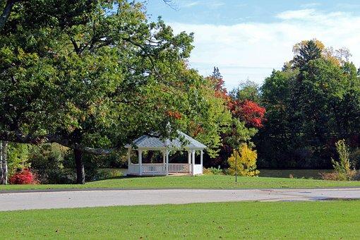 Gazebo, Providence, Rhode Island, Botanical Center