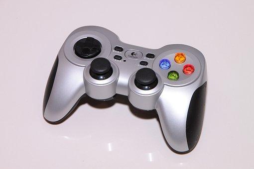 Cordless, F710, Gamepad, Games, Logitech, Rumblepad