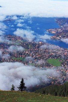 Tergernsee, Wallberg, Valley View, Lake