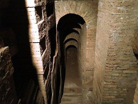 Ancient, Roman, Catacomb
