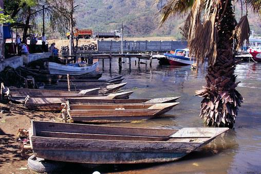 Boat, Lake, Guatemala, Atitlan, Pier