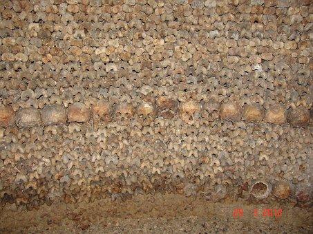 Bones, Skull, Catacomb