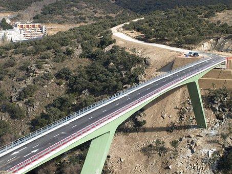 Bridge, Construction, Civil Works, Metallic Bridge