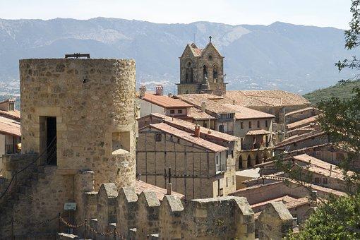 Burgos, Castle, Fortress, Ruins, Cerro De San Miguel