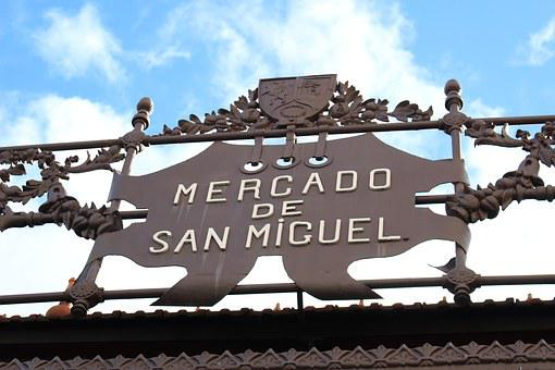 Madrid, San Miguel Market, Architecture, Capitals