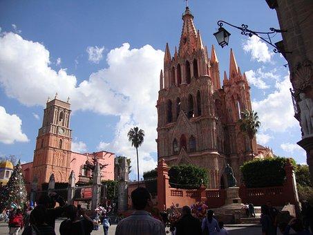 Cathedral, San Miguel De Allende, Architecture, Temple