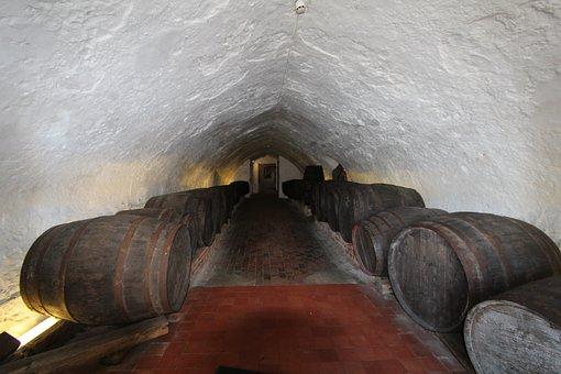 Cellar, Vault, Catacomb, Barrels, Underground