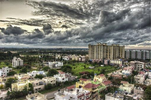 Amrita, College, Clouds, Hdr, Building, Rain, Sky