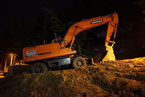 Excavators, Heavy Equipment, Fork Lane