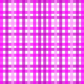 Gingham, Plaid, Geometric, Pink, Purple, White, Shades