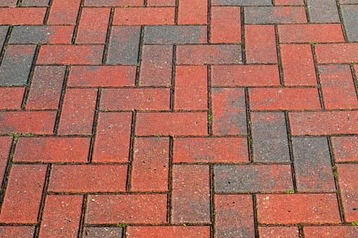 Stones, Paving Slabs, Pattern, Red