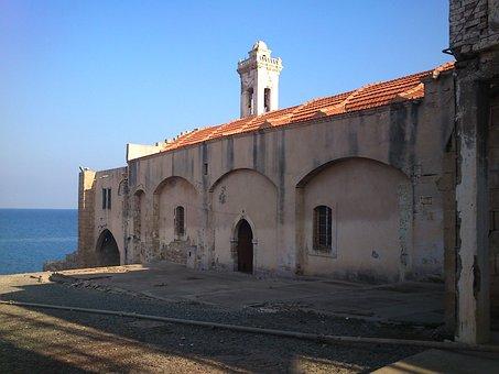 Apostolos Andreas Monastery, Cyprus, Monastery, Sea
