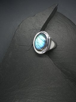 Gem, Labradorite, Jewellery, Ring, Silver Jewelry