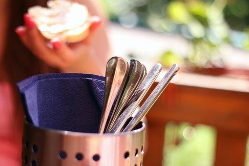 Silverware, Dishes, Cutlery, Teatime, Food