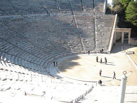 Epidaurus, Amphitheater, Theater, Greece, Greek