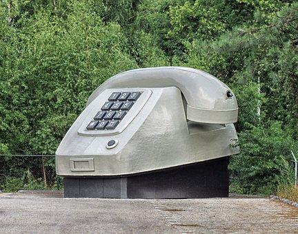 Netherlands, Large Phone, Sculpture, Different, Unique