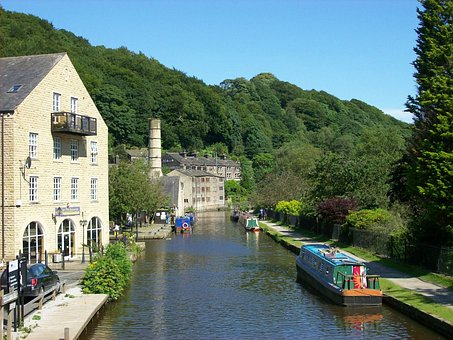 West Yorkshire, England, Great Britain, Town, Village