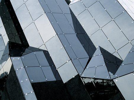 Building, Architecture, Glass, Futuruskop, France