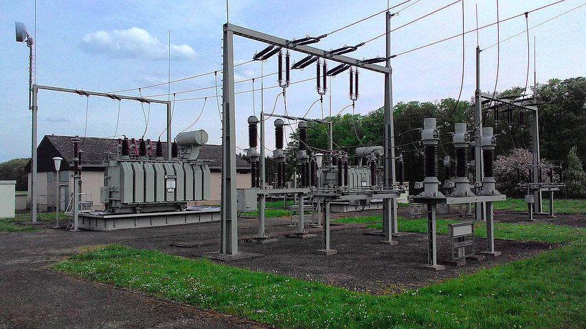 Current, Line, Substation, Power Line, Electricity