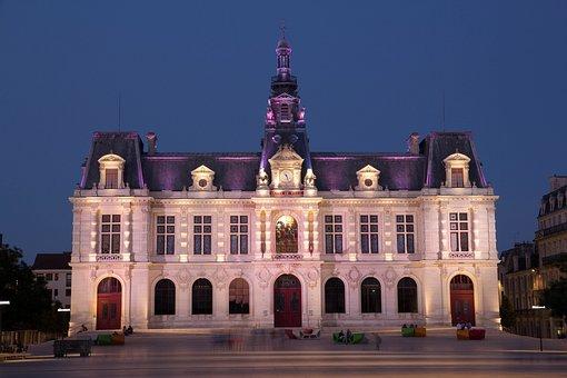 Blue Hour, Poitiers, Long Exposure