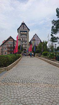 Castle, Resort, Brejaya, Hill, Hills, Malayasia