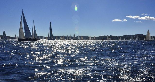 Sailing, Sea, Saint-tropez, Sailing Boat, Boat