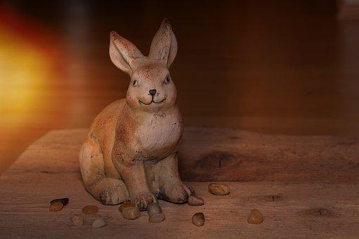Hare, Dekohase, Stone Hase, Stones, Deco, Decoration