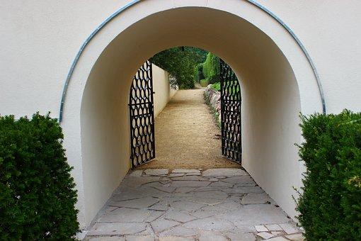 The Entrance To The Garden, Garden, Gateway, The Vault