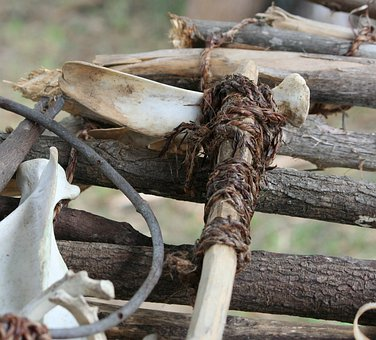 Native American Tool, Trowel, Digging, Hoe, Gardening