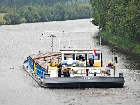 Twentekanaal, Marjan, Ship, Vessel, Transport, Water