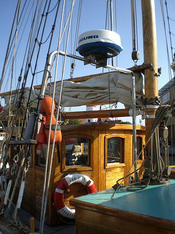 Cabin, Sea, Ship, Port, Shipping, Close, Anchorage