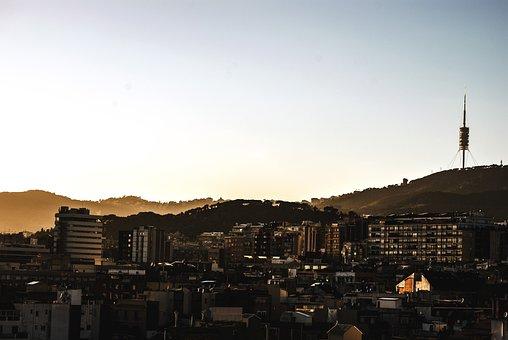 Barcelona, Tower Collserola, Catalonia, Cities