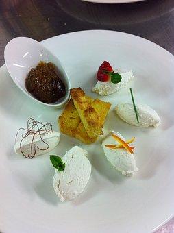 Dish, Ricotta, Gourmet, Starter, Eating Out, Sweet