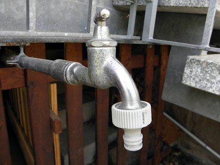 Faucet, Water, Fountain, Irrigation, Garden Irrigation