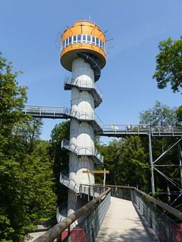 Tree Crown Path, Hainich, Tower, Observation Tower