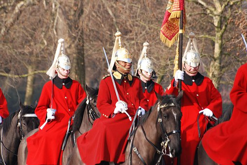 Horseguards, London, Horses, Parade, Sightseeing