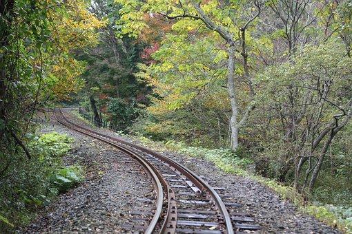 Railroad Tracks, Nature, Jeju Island