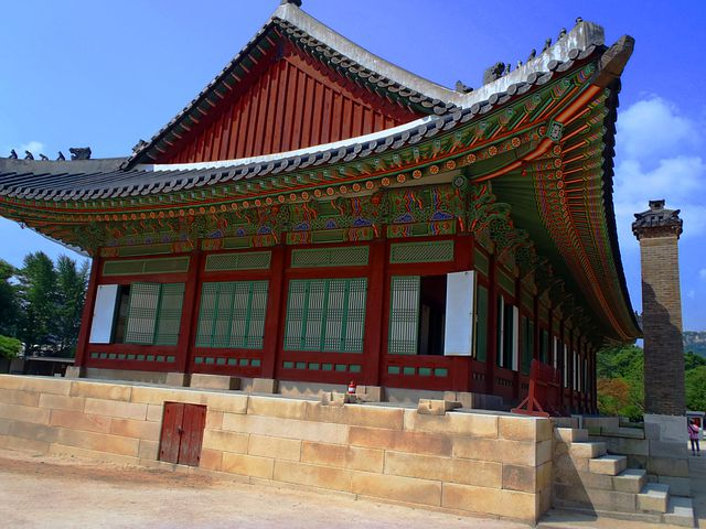 Korea, Building, Monument, Seoul, King
