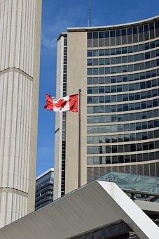 Flag, Canada, Canadian, Canada Flag, Symbol, National
