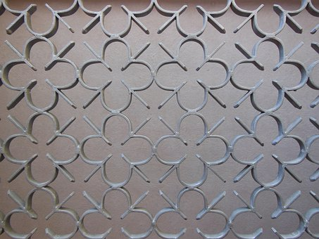 Port Grille, Iron, Detail, Pattern, Metal, Close-up