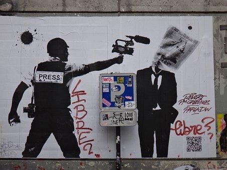 Paris, Graffiti, Policy, Image, Mural, Creative