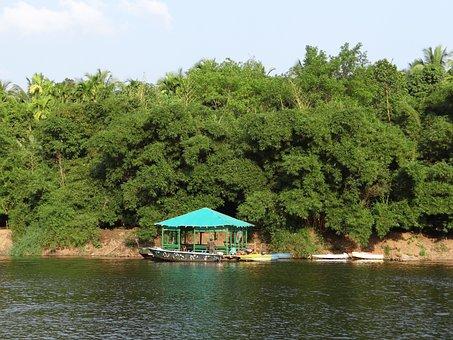 Gangavali, River, Ramanguli, Jetty, Bamboo Forest