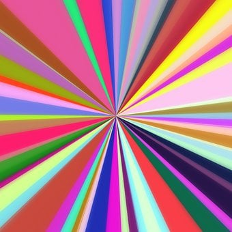 Abstract, Starburst, Lines, Rays, Background, Pattern