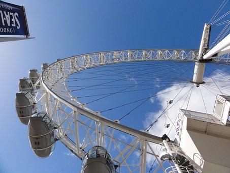 Ferris, Wheel, Amusement, Ride, Fair, Entertainment